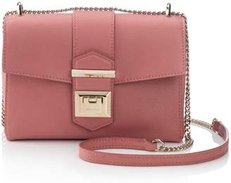 Jimmy Choo Marianne Leather Crossbody Bag