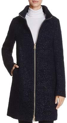 Herno Shimmer Bouclé Coat