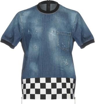 DSQUARED2 Denim shirts - Item 42657967IO