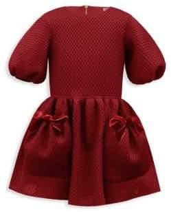 David Charles Little Girl's Diamond Techno Dress