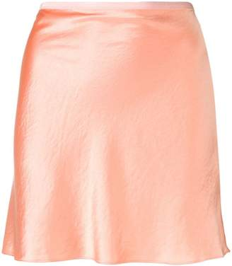 Alexander Wang metallic mini skirt