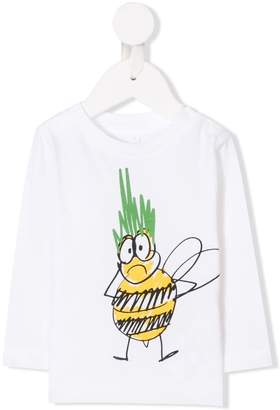 Stella McCartney Bee print top