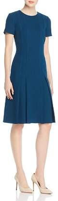 Lafayette 148 New York Jannie Pleated Wool Dress