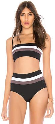 L-Space Rebel Stripe Bikini Top