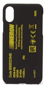 Heron Preston Stamp Iphone X Phone Case - Mens - Black Multi