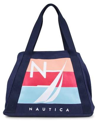 Nautica For Shoal Large Tote Bag
