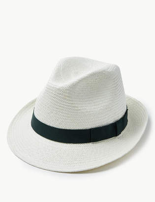 M&S CollectionMarks and Spencer Stone Trilby Hat