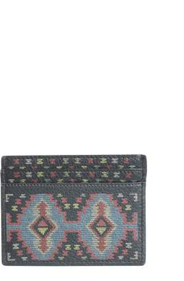 Etro Leather Card Holder