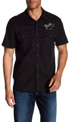 Lucky Brand Fender Embroidery Shirt