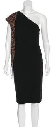 Dolce & Gabbana One-Shoulder Sheath Dress
