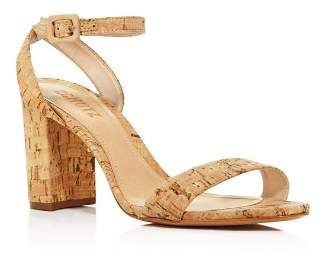 Schutz Women's Bebethy Cork Ankle Strap Sandals