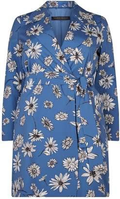 Marina Rinaldi Floral Tailored Coat