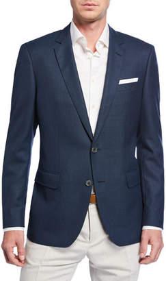BOSS Men's Slim-Fit Solid Wool Sport Coat