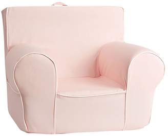 Pottery Barn Kids White Piping Anywhere Chair® Slipcover Only