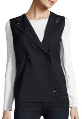 Opening Ceremony Focal Two-Button Vest