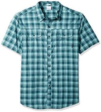 Columbia Men's Leadville Ridge Big & Tall Yarn Dye Short Sleeve Shirt