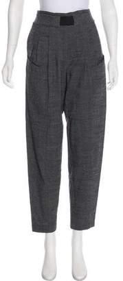 Thakoon Virgin Wool High-Rise Pants