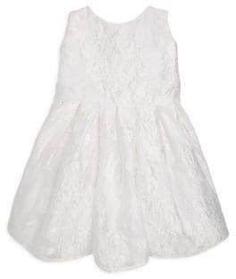 Helena and Harry Baby's, Toddler's& Little Girl's Floral Organza Dress