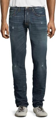 PRPS Men's Le Sabre Distressed Tapered Jeans