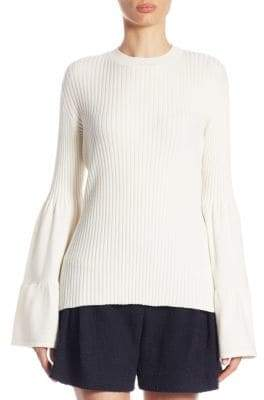 Mother of Pearl Corinne Bell-Sleeve Sweater