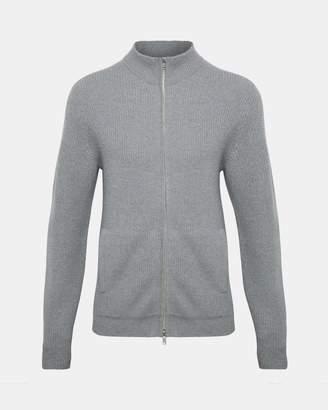 Theory Merino Wool Zip Sweater