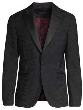 John Varvatos Jacquard Suit Jacket