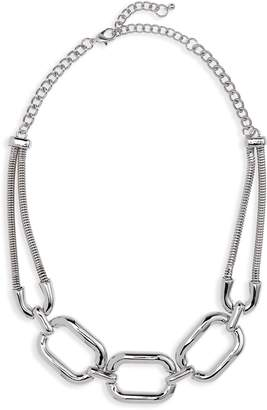 BP Chainlink Statement Bib Necklace