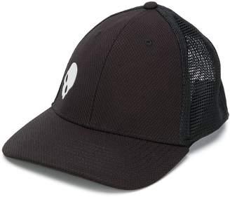 Skull mesh baseball cap