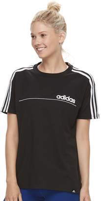 adidas Women's Linear Line Oversized Graphic Tee