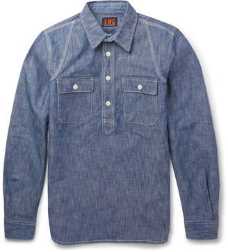 The Workers Club Slim-Fit Cotton-Chambray Shirt