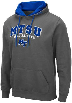 NCAA Unbranded Mens Middle Tennessee Blue Raiders Mens Pullover Hooded Fleece