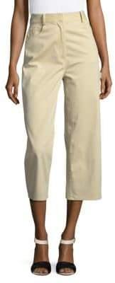Tibi Brushed Twill Wide Leg Pants