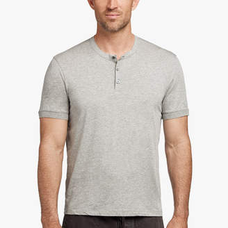 James Perse COTTON CASHMERE JERSEY HENLEY