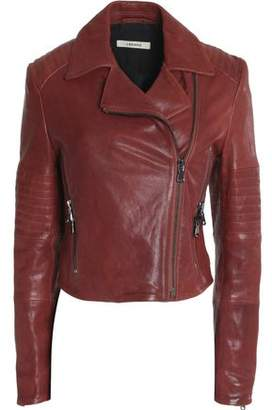 J Brand Leather Biker Jacket