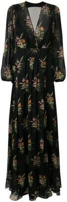 No.21 sheer back floral dress