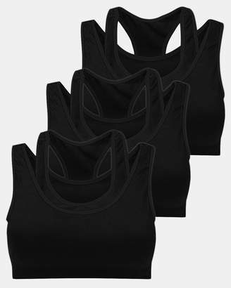 3 Pack Double Racer Sports Bra
