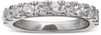 JCPenney SILVER ENCHANTMENT Silver Enchantment Cubic Zirconia Sterling Silver Band Ring