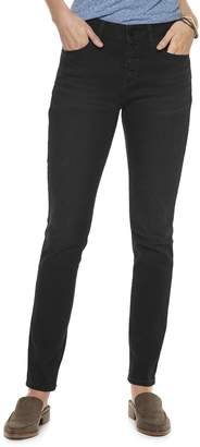 Sonoma Goods For Life Women's SONOMA Goods for Life Button High Waist Skinny Jeans