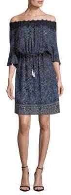 Elie Tahari Blaine Off-The-Shoulder Dress