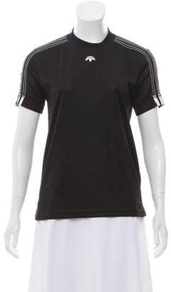 Alexander Wang x Adidas Short Sleeve Crew Neck Top