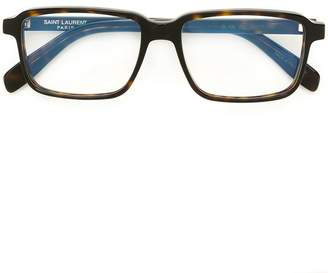 Saint Laurent Eyewear rectangular frame glasses