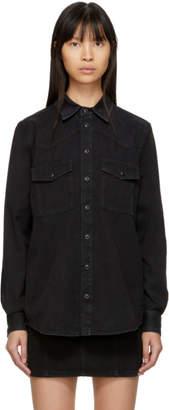 Givenchy Black Denim 4G Shirt