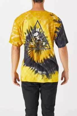 HUF x Peanuts Snoopy Skates Tie Dye T-Shirt