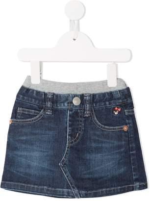 Mikihouse Miki House denim skirt