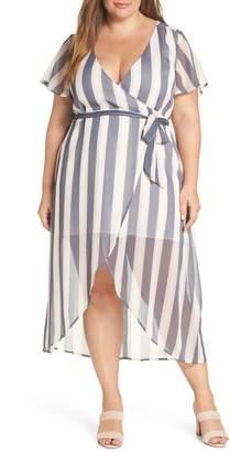 Leith Wrap Midi Dress
