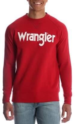 Wrangler Men's and Big & Tall Crew Neck Sweatshirt, up to Size 5XL