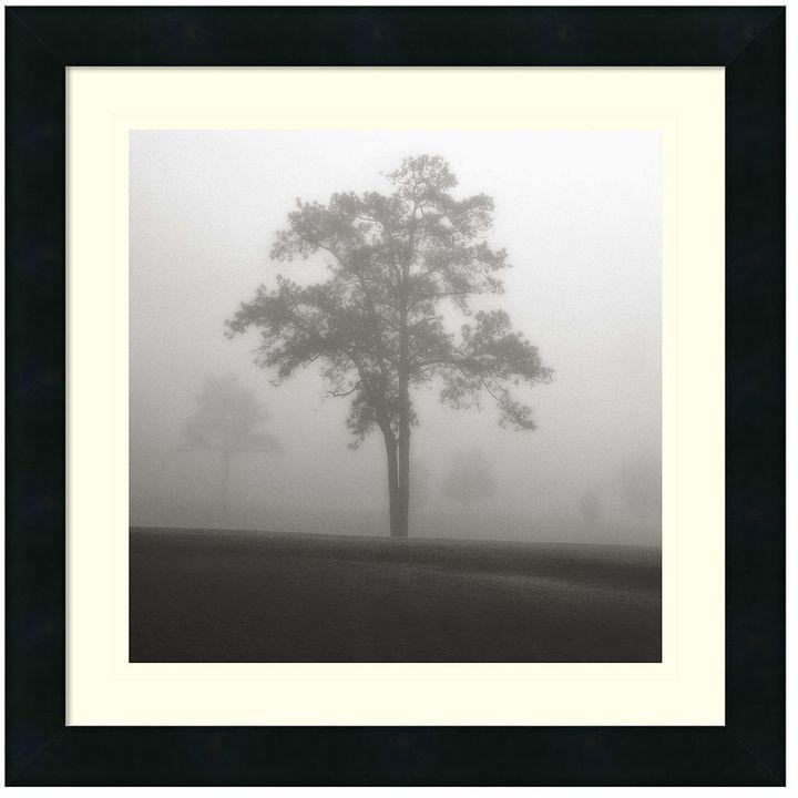 "Amanti art ""Fog Tree Study I"" Framed Wall Art"