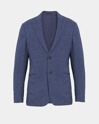 Theory Wool Seersucker Newson Blazer