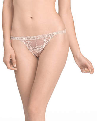 Natori Feathers Lace Thong