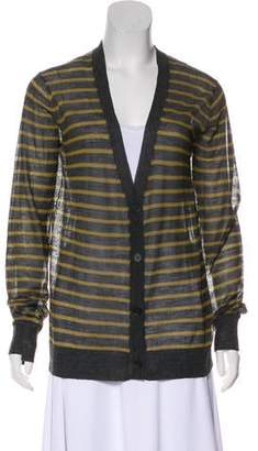 Alexander Wang Long Sleeve Knit Cardigan